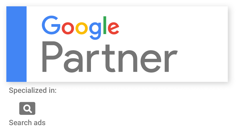 Google Partner specialized in search ads